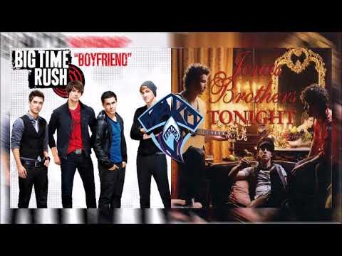 Big Time Rush Vs. Jonas Brothers - Boyfriends Tonight (Mako Mashup)