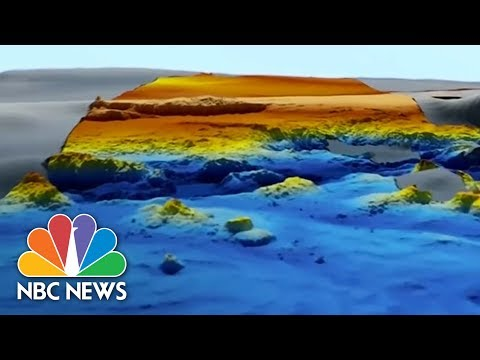 Never-Before-Seen Maps Of Indian Ocean Seafloor From MH370 Search Data | NBC News