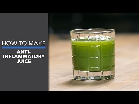 How To Make Anti-Inflammatory Juice