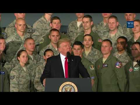 President Trump Delivers Remarks to Military Personnel and Families