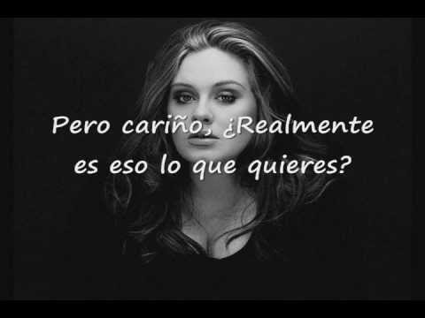 Adele - Rumour Has It (Subtitulada)
