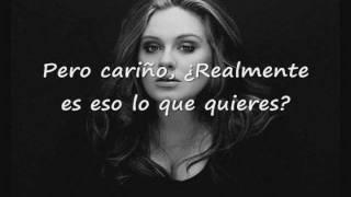 Repeat youtube video Adele - Rumour Has It (Subtitulada)