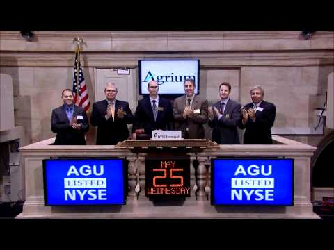 25 May 2011 Agrium rings the NYSE Closing Bell