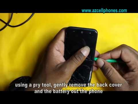 HTC First Repair - Back Cover and Battery Removal