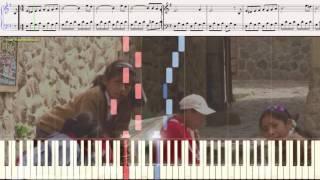 El Condor Pasa - Paul Simon &  Garfunkel (Ноты и Видеоурок для фортепиано) (piano cover)