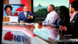 "Roland Martin to Nancy Grahn ""Shut The Hell Up!!!"""