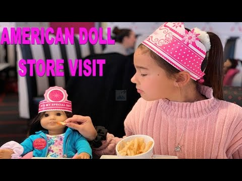 Visiting The American Girl Doll Store In Los Angeles