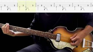 Bass TAB : Wait - The Beatles