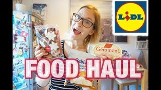 FOOD HAUL Lidl mit Rezeptideen | 82 € | Lisi Schnisi