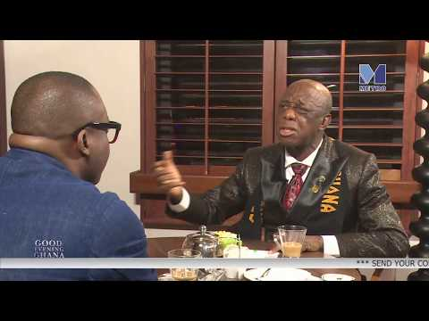 Dr. THOMAS MENSAH speaks on HIGH SPEED TRAIN for GHANA  with  Paul Adom Otchere