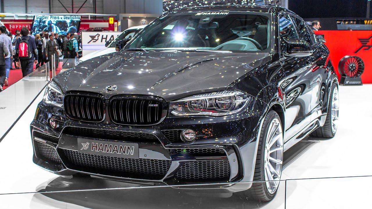 Hamann Bmw X6 M Geneva Motor Show 2016 Hq Youtube