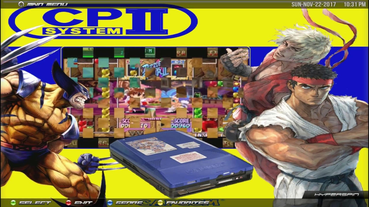 HyperSpin Capcom Play System II