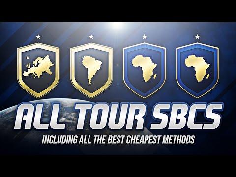 FIFA 17 - NEW AFRICAN/EUROPEAN TOUR SBCS *CHEAPEST METHOD* FREE 50K PACK!!