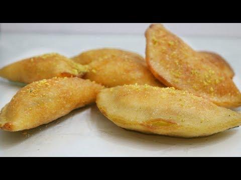 আরব দেশের জনপ্রিয় মুখরোচক ছানা মিষ্টি II Arabic Famous Cheese Qatayfe Recipe II Eid Special