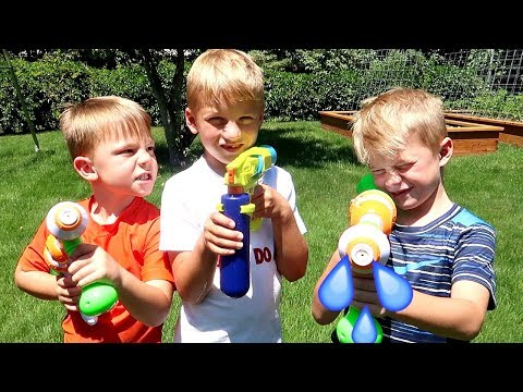 Water Fight, Cousin VS Cousin