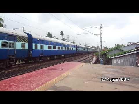 Jammu Tawi Express At Birati Station Today I Rarest Of Rare Capture