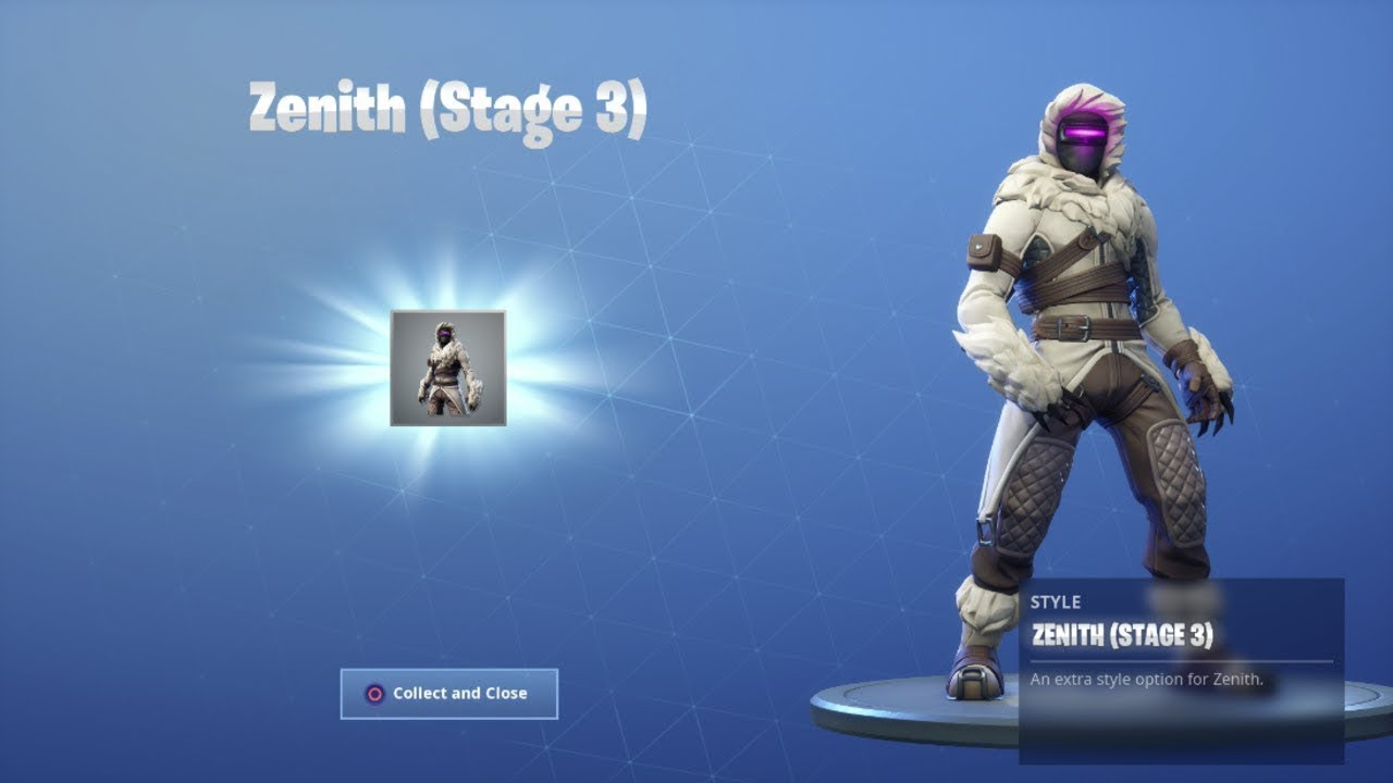 New Stage 3 Zenith Mask Unlocked Fortnite Season 7 Battle Pass
