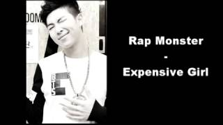 Bts rap monster expensive girl