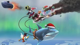 Hungry Shark Evolution - Sharkmas Update Trailer 2018🎄