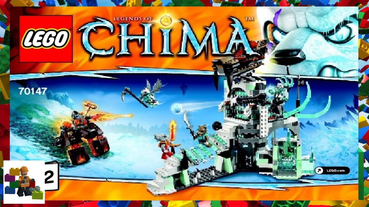 lego instructions - chima - 70147