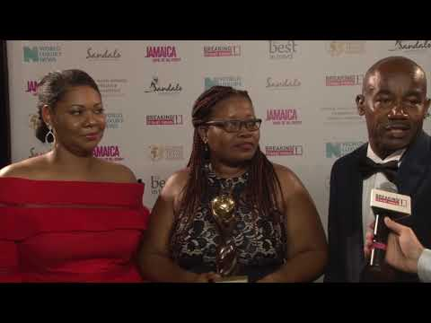 Kimberley Stiff, Bridgette Fraser and Hugh Clarke, Port Authority of Jamaica