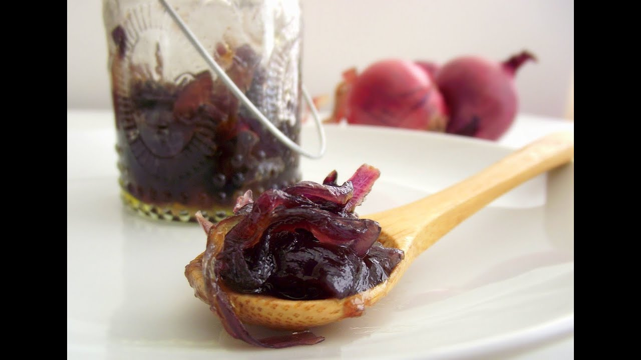 Marmellata Di Cipolle Rosse Fatta In Casaricetta Light Youtube