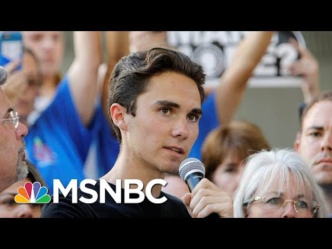 David Hogg On 'Crisis Actor' Conspiracies: Change Is Coming Regardless | Andrea Mitchell | MSNBC
