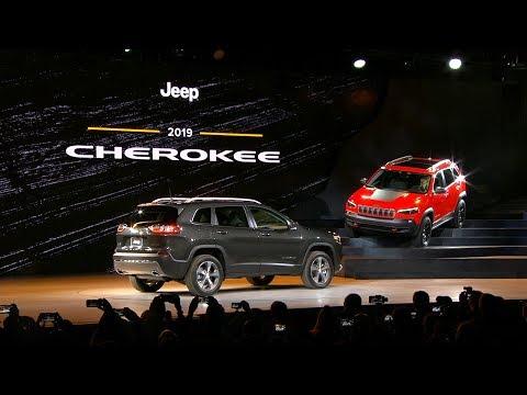 2019 Jeep® Cherokee Reveal | 2018 NAIAS (Full)