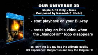 Our Universe 3D Music Only Track