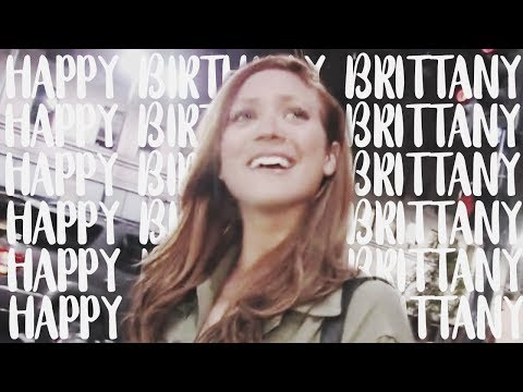 happy birthday brittany snow ♥