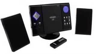 Jensen JMC-180 Wall Mountable Compact Stereo System with Remote