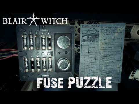 Blair Witch - The Reunion - Fuse Puzzle on