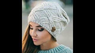 Модели Модных Шапок Спицами для Женщин - 2019 / Models Fashion Hats Knitting for Women
