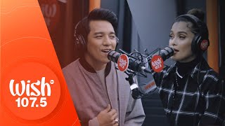 "KZ Tandingan and TJ Monterde perform ""Can't Wait to Say I Do"" LIVE on Wish 107.5 Bus"