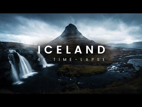 ICELAND 4K Time-Lapse