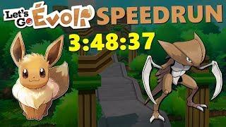 MOINS 20 MINUTES ! - Let's Go Evoli Speedrun en 3:48:37
