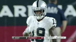 Jaydon Mickens Raiders Preseason Highlights | Week 1 vs. Cardinals