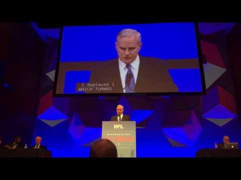 Mark Dayton @ MN DFL 2016 State Convention