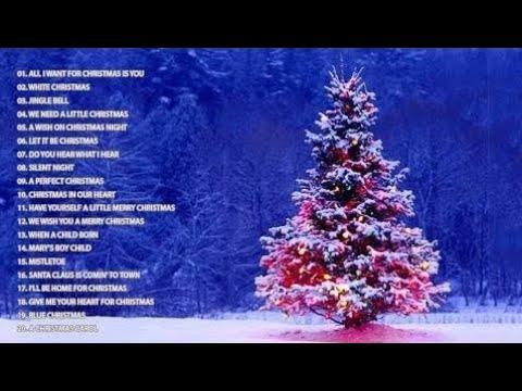 Top 50 Christmas Songs & Carols  Over 2 Hours Beautiful Xmas Music  Merry Christmas