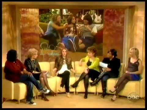Emily Osment  The View Interview