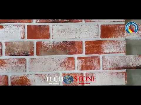 Techstone Romania 2020 - Panouri imitatie caramida Techstone Old Style