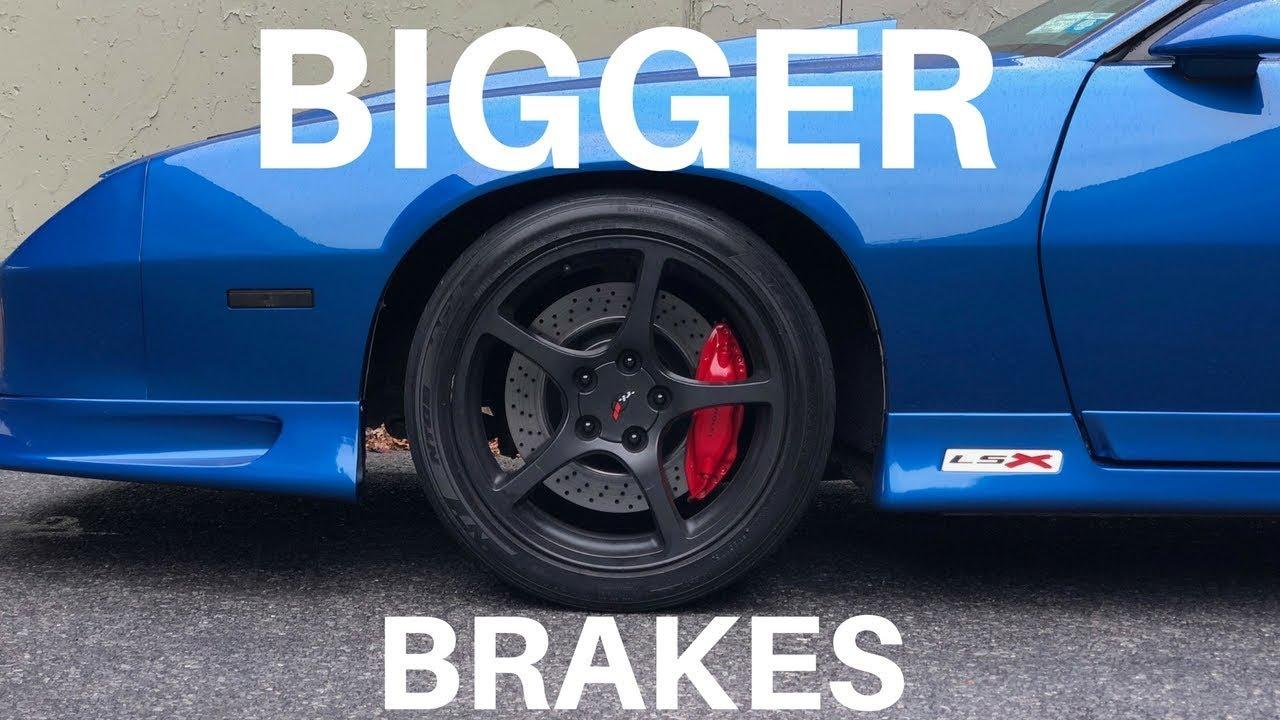 CTS-V Brembo Brake Upgrade Guide for a 3rd Gen Camaro ...