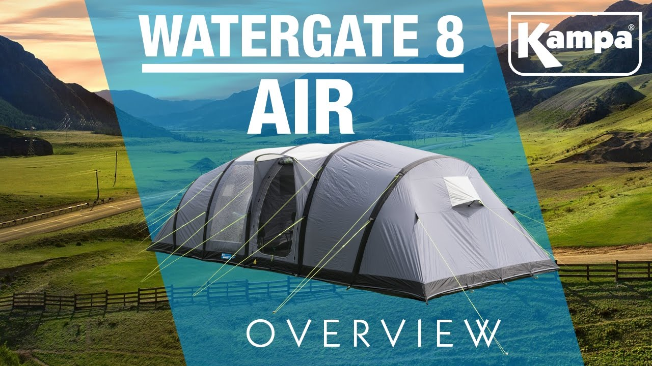 Kampa   Watergate 8 AIR   Overview - YouTube