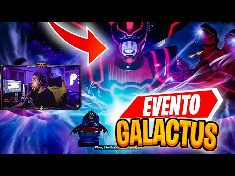 REACTION all'EVENTO di GALACTUS su FORTNITE!