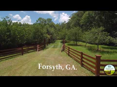Forsyth 120 Hunting Land with Cabin & 2 Ponds | Monroe County 31029