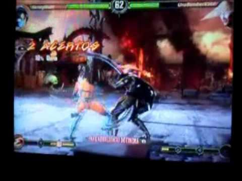 KennyRLZ89 (Kitana) VS UnaBomberX360 (Raiden) 06 08 2012