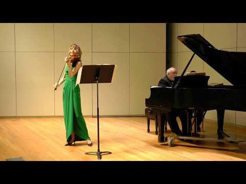 Johannes Brahms, Violin Sonata in A Major, No.2 op.100, movement 1, Allegro amabile