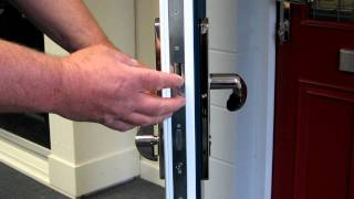3. How to operate the snib or latch on your masterdor or suredor