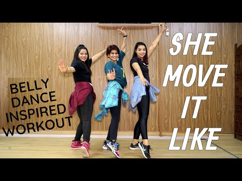 She Move It Like | DANCE Fitness Choreography | By Vijaya Tupurani | Badshah