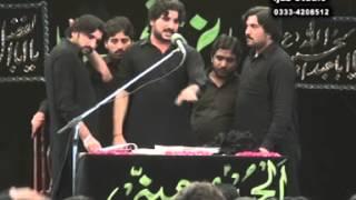 zakir syed imran haider kazmi  Reza e najaf 04 Muharram  2013